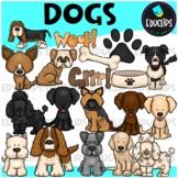 Dogs Clip Art Bundle {Educlips Clipart}