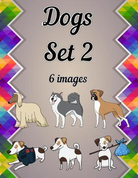 Dogs Clip Art Set 2
