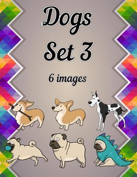 Dogs Clip Art Set 3