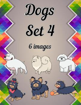 Dogs Clip Art Set 4