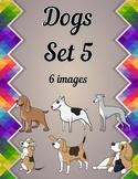 Dogs Clip Art Set 5