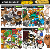 Dogs Clip art BUNDLE/Dog Breeds /Dog types by Clipartino