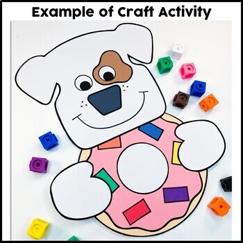 Dogs Eat Donuts Craft