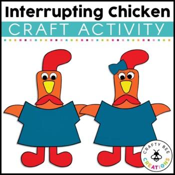 Interrupting Chicken Craft Activity