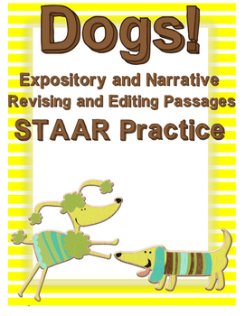 Dogs: Expository and Narrative Revising and Editing Passages