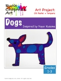 Dogs Inspired by Yayoi Kusama: Art Lesson for Grades 1-3