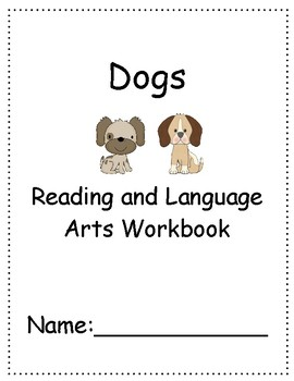 Dogs (Jennifer B. Gillis) ~ Language Arts Workbook ~ 2nd Grade ~ HMH Journeys