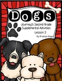 Dogs Journey's Activities - Second Grade Lesson 3