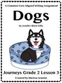 Dogs-Journeys Grade 2-Lesson 3