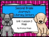 Dogs Journey's Literacy Centers - Second Grade Lesson 3