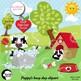 Dog Clipart, Puppy Dog Clip Art, {Best Teacher Tools} AMB-595