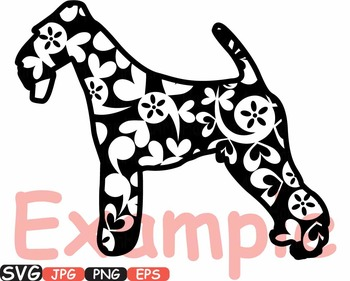 Dogs Mascot Flower dog clipart school baby shower svg puppy PET Paw -426s