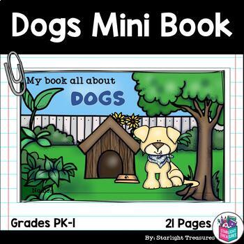 Dogs Mini Book for Early Readers