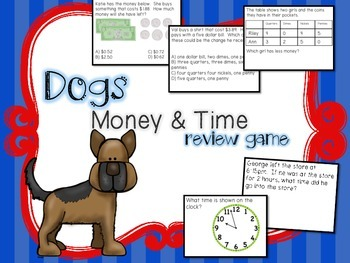Dogs Money & Time Review Game