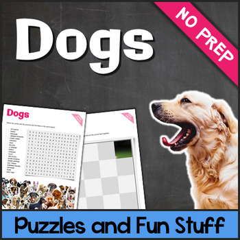 Dogs (Puzzles & Fun Stuff)