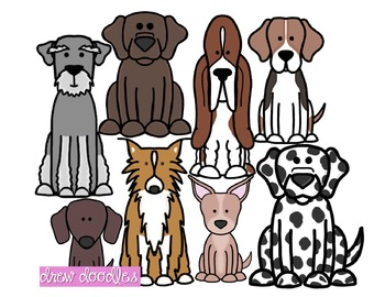 Dogs Set 2 Clipart