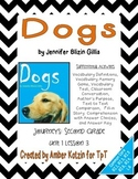 Dogs Supplemental Activities 2nd Grade Journeys Unit 1, Lesson 3