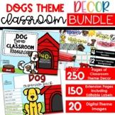 Dogs Theme - Complete Classroom Decor BUNDLE