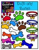 Dogs and Bones {Creative Clips Digital Clipart}