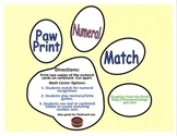 Dogs and Paws Numeral Center