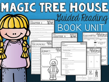 Dogs in the Dead of Night Magic Tree House Comprehension Unit
