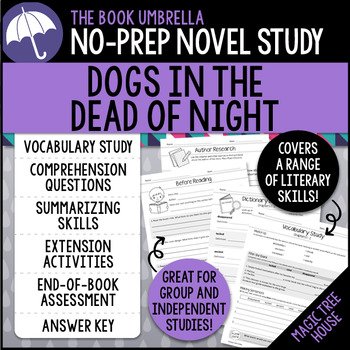 Dogs in the Dead of Night - Magic Tree House