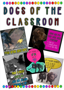 Dogs in the classroom- Class Signs