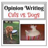 Dogs vs. Cats Opinion Writing