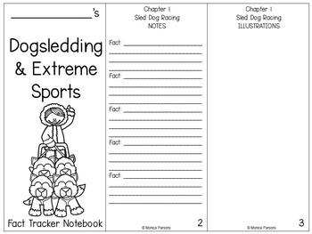 Magic Tree House #34 - Dogsledding & Extreme Sports - {Nonfiction Fact Tracker}