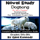 Dogsong Novel Study & Enrichment Project Menu