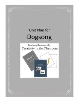 Dogsong Novel Unit Plus Grammar