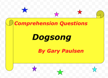 dogsong essay Free essay: gary paulsen: a life of adventure and survival gary paulsen's whole life reflects his life of adventures and survival in the wilderness and his.