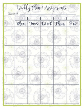 Dogwood Blue Homeschool Planner