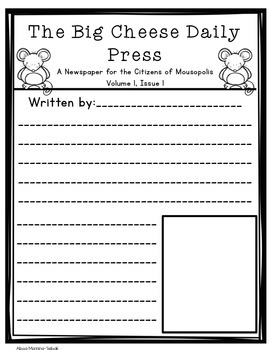 Dogzilla Newspaper Article Writing {Class Book}