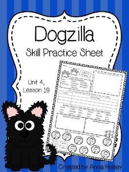 Dogzilla (Skill Practice Sheet)