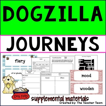 Dogzilla Journeys Third Grade Unit 4 Lesson 19 Activities & Printables