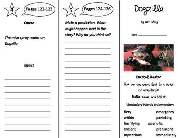 Dogzilla Trifold - Journeys 3rd Grade Unit 4 Week 4