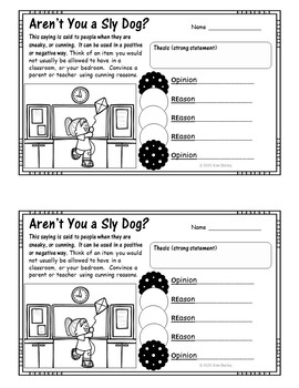 Dogzilla Unit 4 Lesson 19 Writing Activities