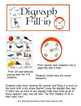 Doin' Digraphs - 3 Digraph Practice Activities