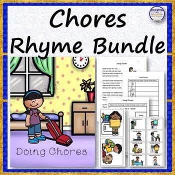 CHORES Rhyme Bundle
