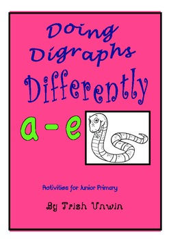 Doing Diagraphs Differently - a-e
