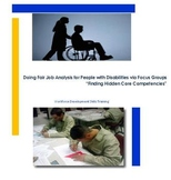 Doing Fair Job Analysis for People with Disabilities via F