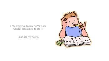 Doing Homework Story for Social Scenario