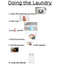 Doing Laundry: Visual Steps