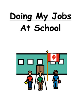 Doing My Jobs Social Story