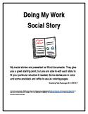 Doing My Work Social Story