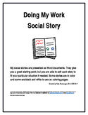 Doing My Work Social Story