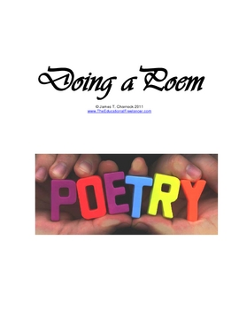 Doing a Poem: How to Start Losing Your Fear of Classroom Drama