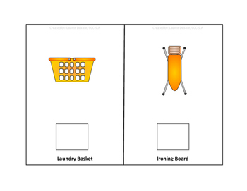 Doing the Laundry - Interactive Vocabulary Books
