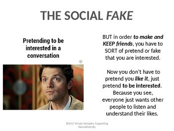 Doing the Social Fake; Perspective Taking; Flexible Thinking; Friendship